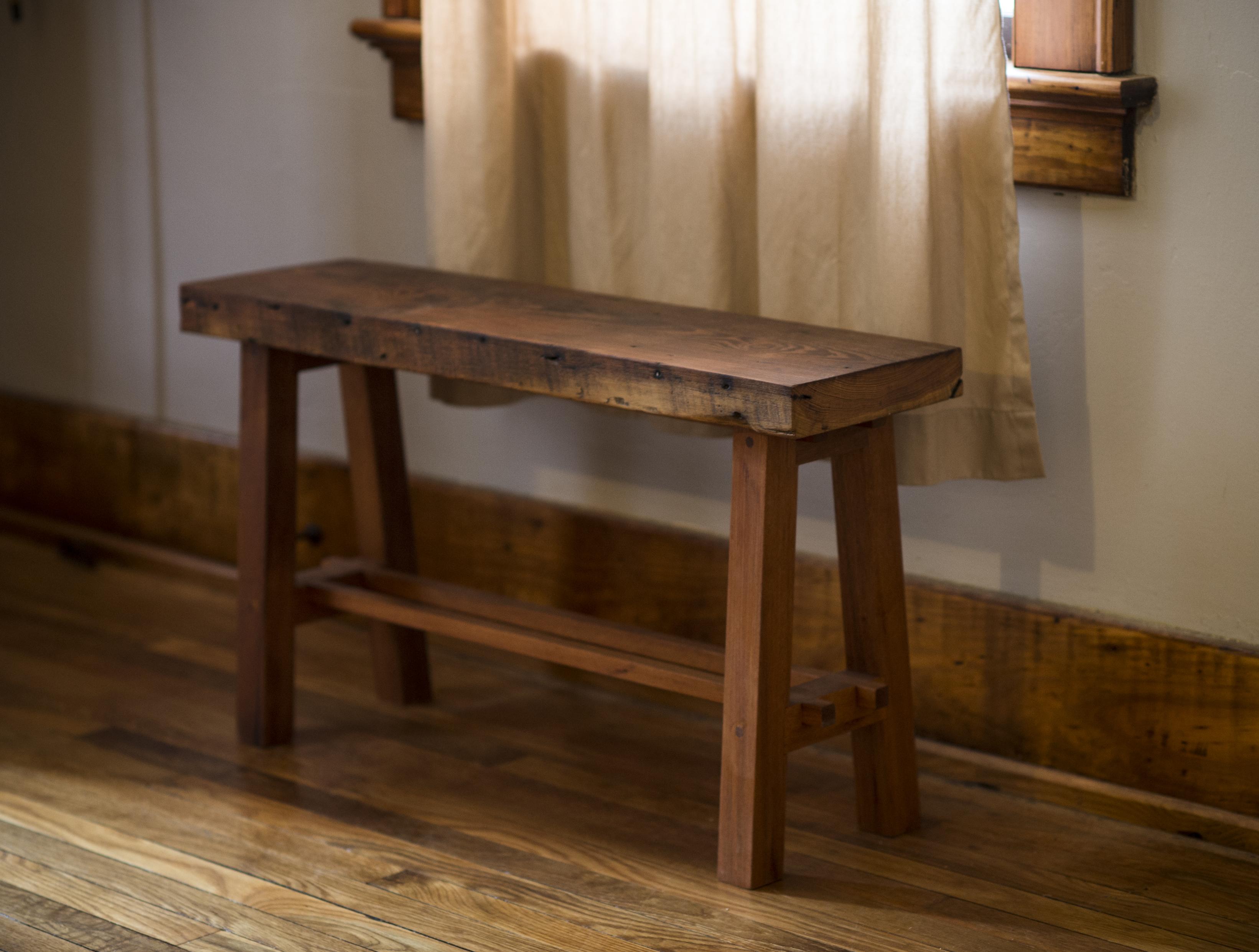 Jeremiah Goodwin Woodcraft High Bench