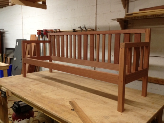 by porch lumberjocks com bench donb woodworking community projects
